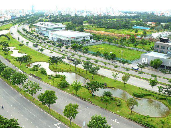 Cơ sở hạ tầng Phú Mỹ Hưng
